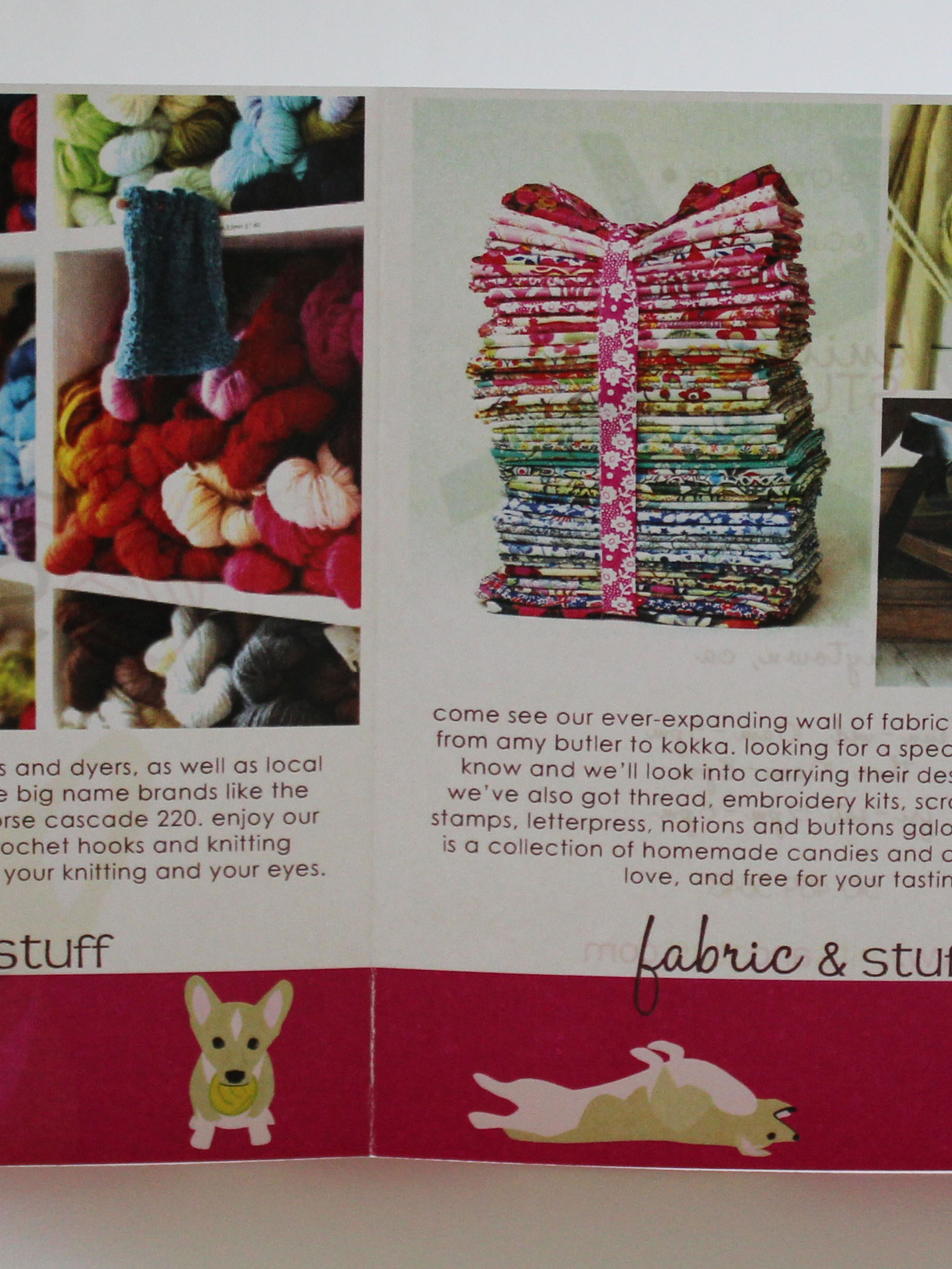 Knits & Stuff Brochure Inside
