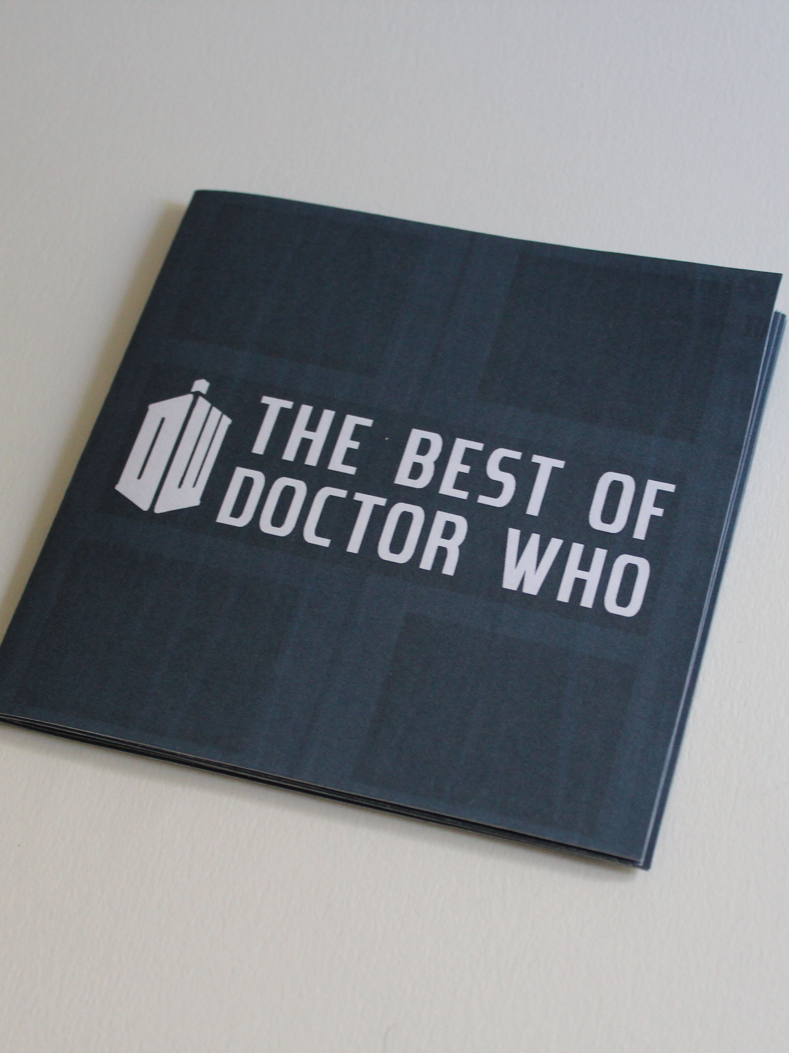 Doctor Who Pamphlet 1